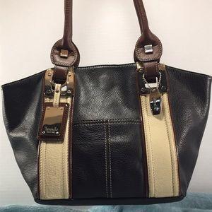 TIGNANELLO EUC Leather Shoulder Bag